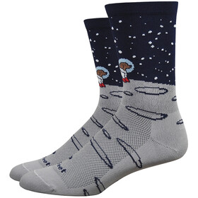 "DeFeet Aireator 6"" Calze, moon doggo/grey/navy"